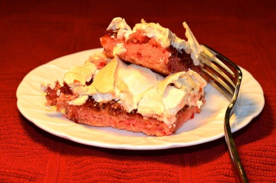Jammin' Strawberry Bars