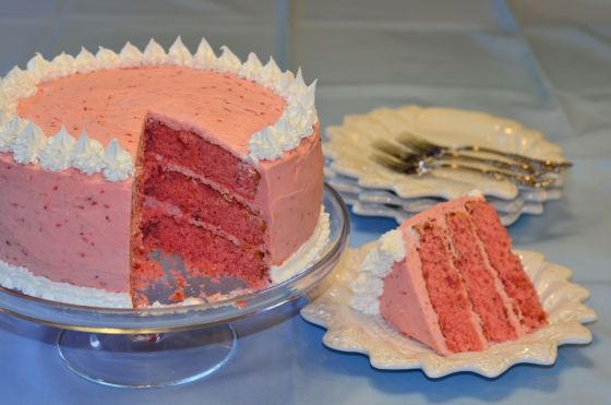 Scott's Strawberry Cake