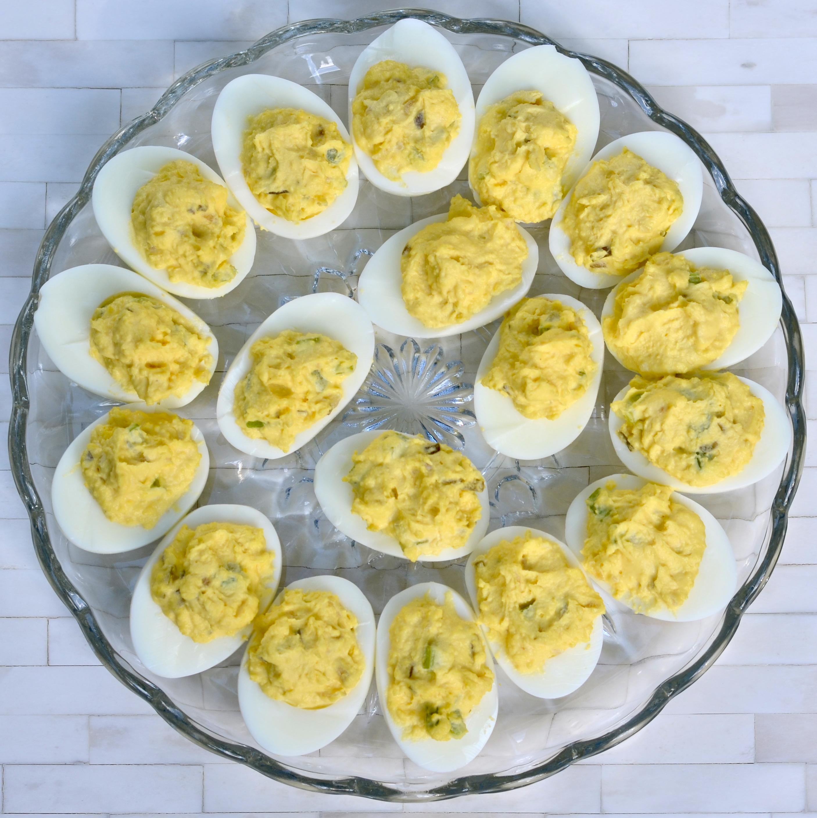 Napa Valley Deviled Eggs Mary Duke Cooks