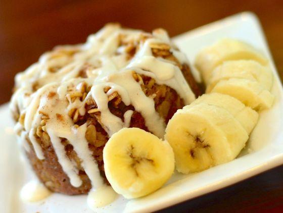 Banana Baked Oatmeal