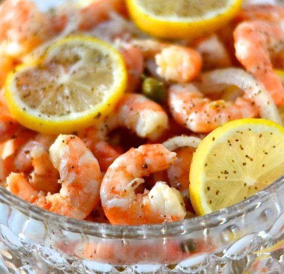 Lemon Marinated Shrimp