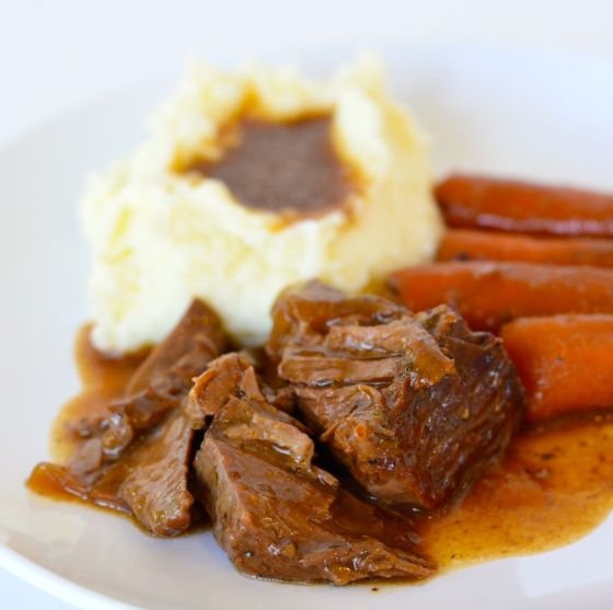 3 packet crockpot roast