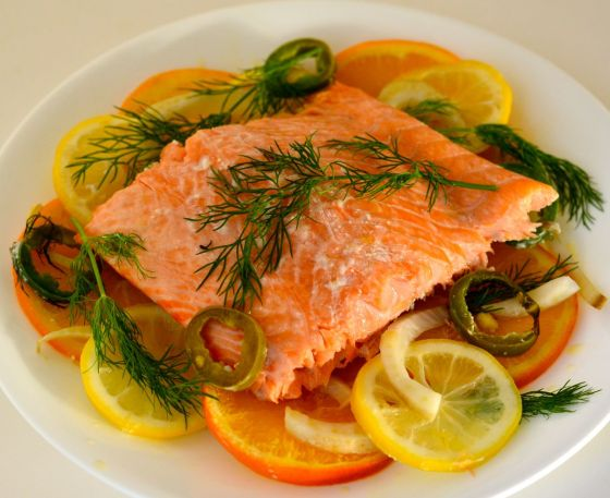 Citrus Infused Salmon