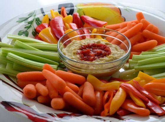 hummus- platter