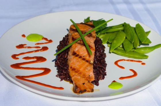 Grilled Teriyaki Salmon #2