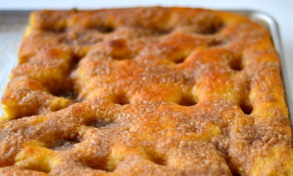 Winkler's Moravian Sugar Cake | Mary Duke Cooks!
