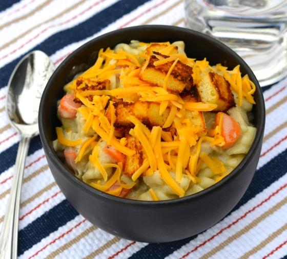 creamy chix noodle soup