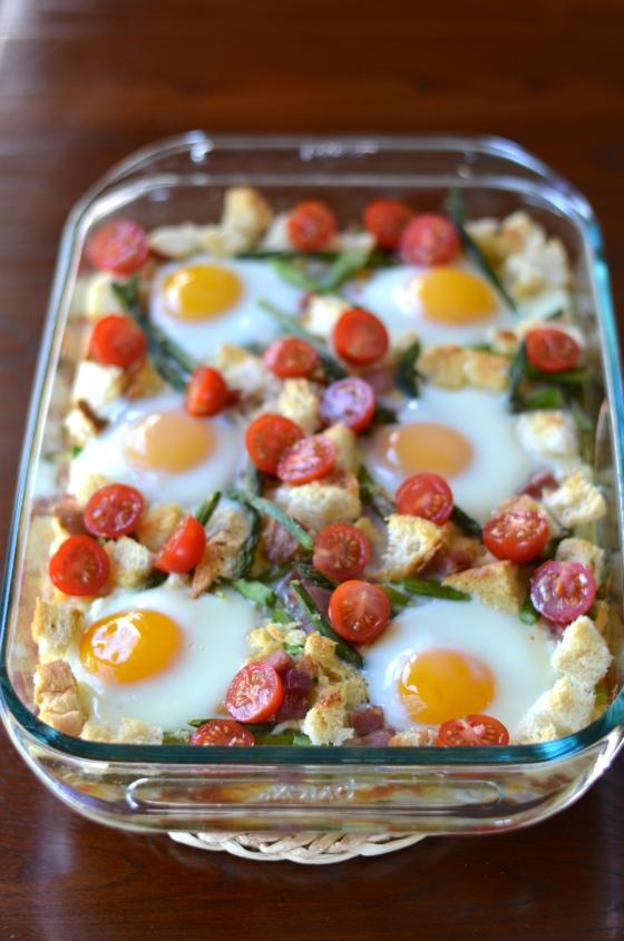 Ham, Asp, egg cass