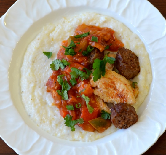 creole grillades and grits